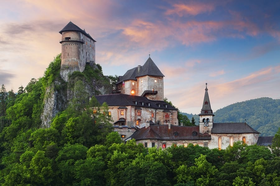 Legend of Orava Castle